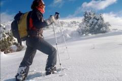 rakiety śnieżne bieszczady solina